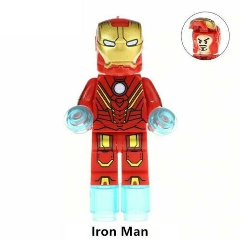 Iron-man movie minifigure TV show Marvel Comic Avengers toy figure!!!