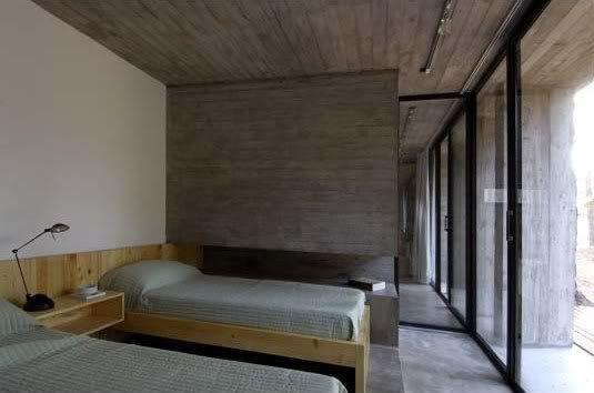 casa hormigon bak arquitectos tecno haus