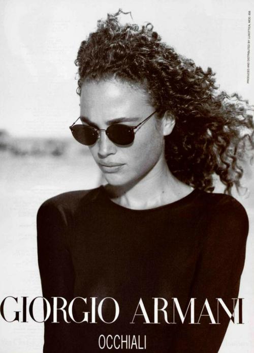 eaacbde24764 Vintage Armani Ad   Sunglasses   Giorgio Armani - Amit Machtinger   Peter  Lindbergh  armani