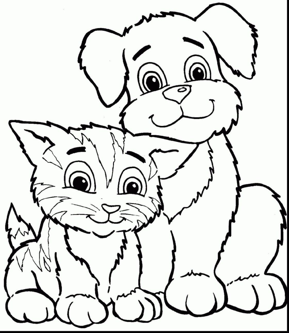 Coloring Pages Of Cats Highest Cat And Dog Coloring Pages Cats Dogs Page 13 Free Photosheep Entitlementtrap Com Dog Coloring Page Puppy Coloring Pages Cat Coloring Page