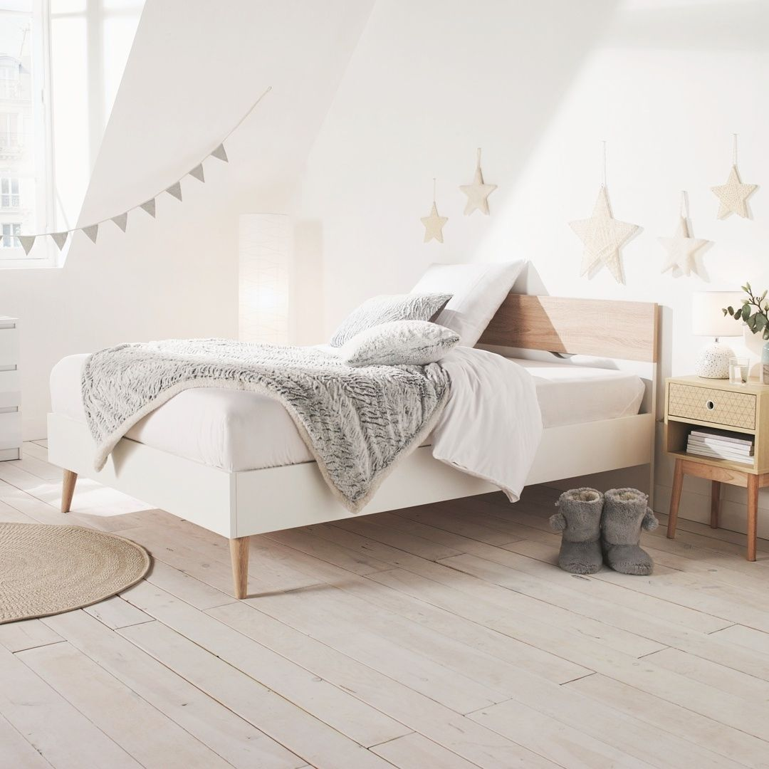 Inspiration Chambre Cocooning Et Epure Lit Oslo But Deco Chambre Cocooning Deco Chambre Lit 140x190