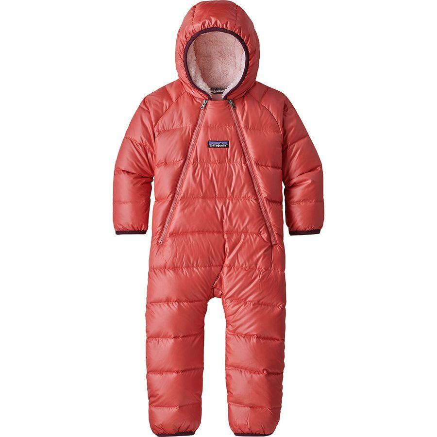 Patagonia Hi Loft Down Sweater Bunting Infant Girls