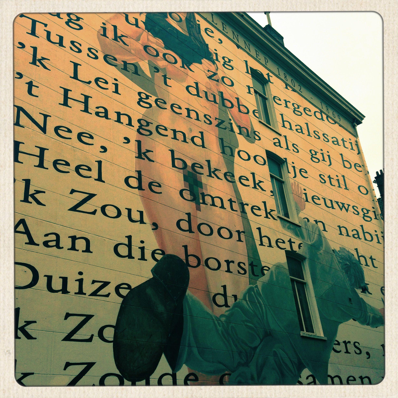 Building wall @ Amsterdam