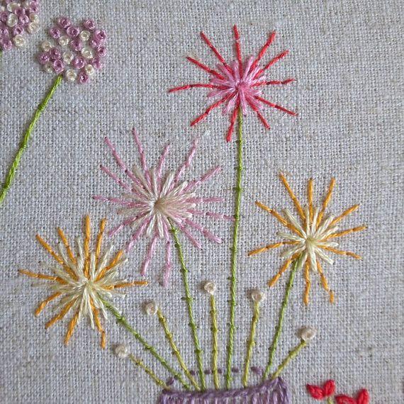 Beautiful flowers embroidery pattern pdf by lilipopo on