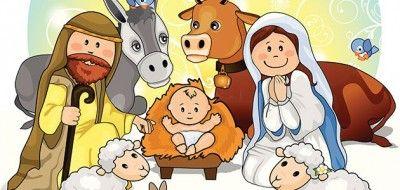 Dibujos Para Ninos De Navidad Cristianos Nacimiento Del Nino