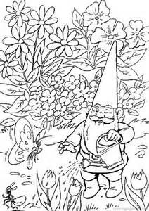 Printable Gnome Coloring Pages Bing Images David The Gnome
