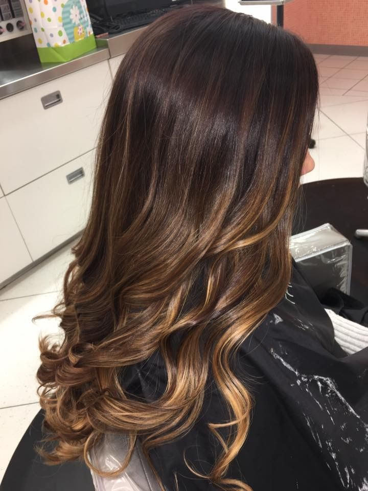 Ombre Balayage Instagram Hairbyallij Makeup And Hair In