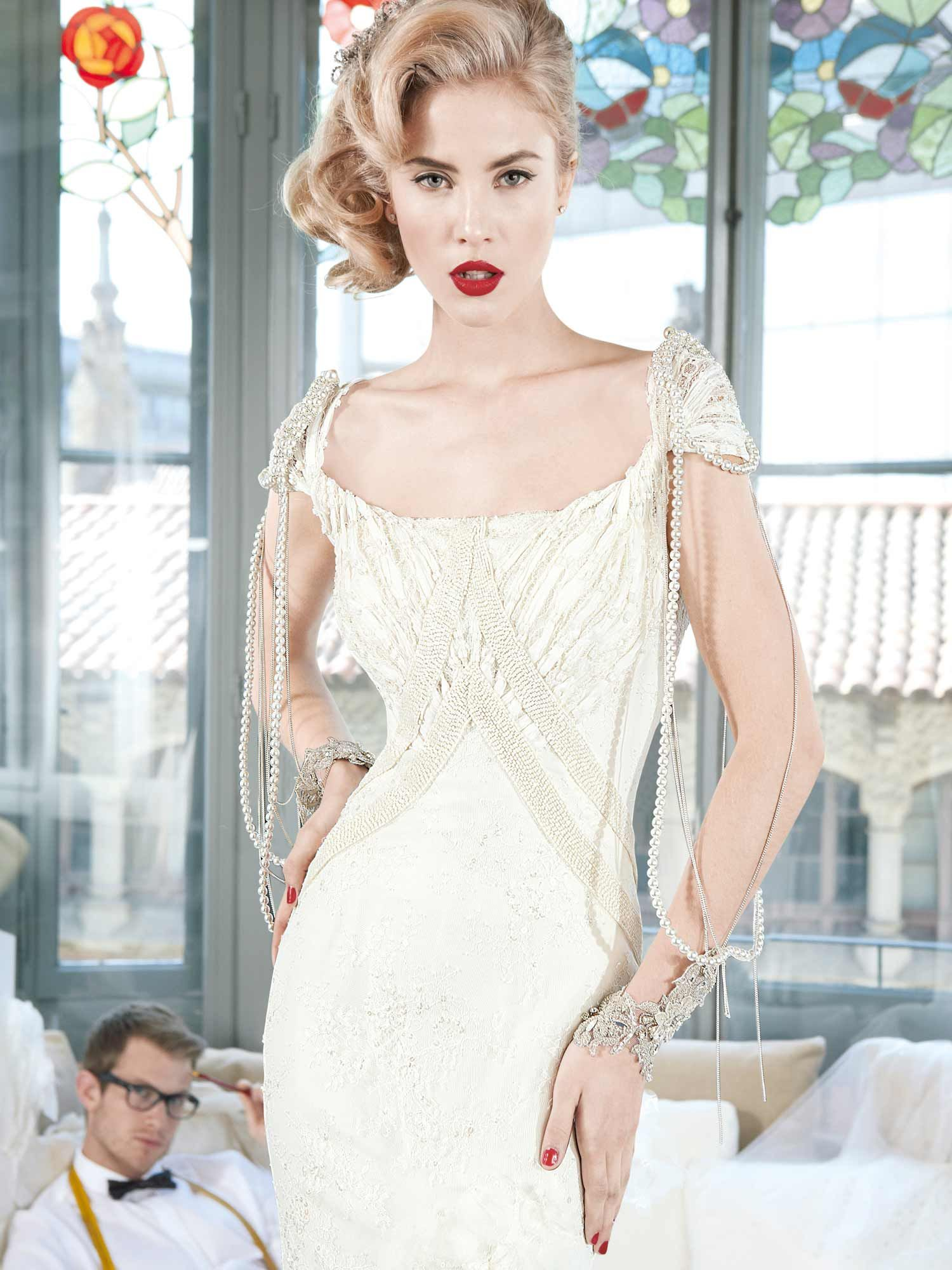This dress is called nantes and is exceptional in its design details