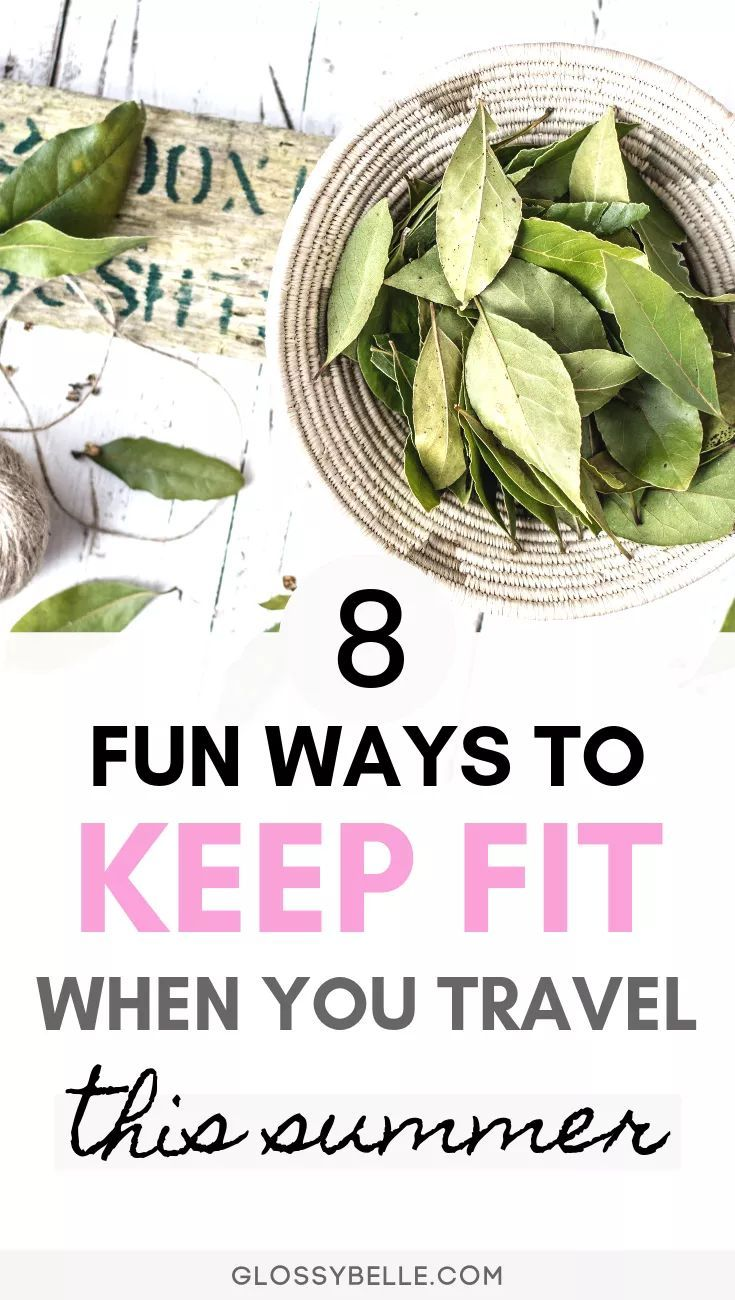 Traveling is a lot of fun but we tend to neglect our bodies by over-indulging and not regularly exer...