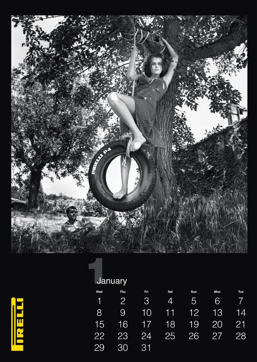 Pirellis New Calendar Was Shot By Helmut Newton In 1986 Helmut