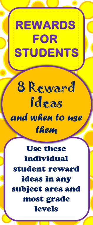 Classroom Incentive Ideas For Middle School : Ideas for rewarding individual students especially