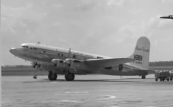 Avro Super Trader At Manchester 1955 Bsaa Star Ariel