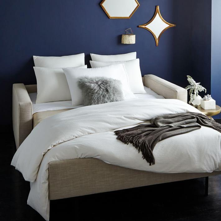 Henry Deluxe Sleeper Sofa with Luxury Foam mattress, no springs. $3000