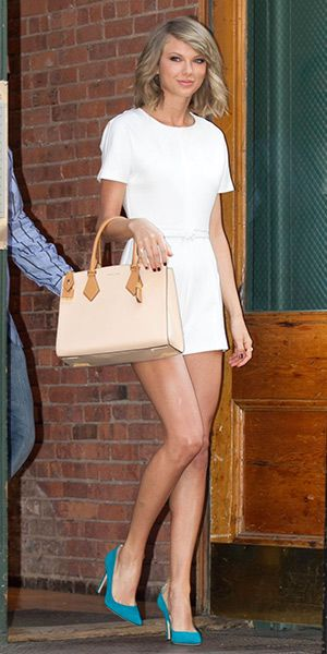 f18ead68efd5 Taylor Swift is pictured leaving her home on May 27