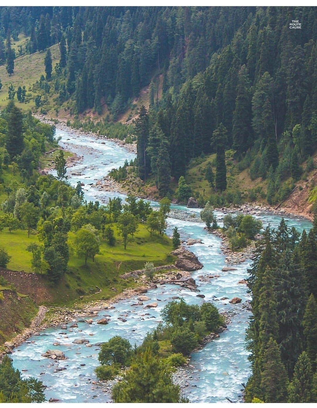 Kashmir Nature Scenery Landscape