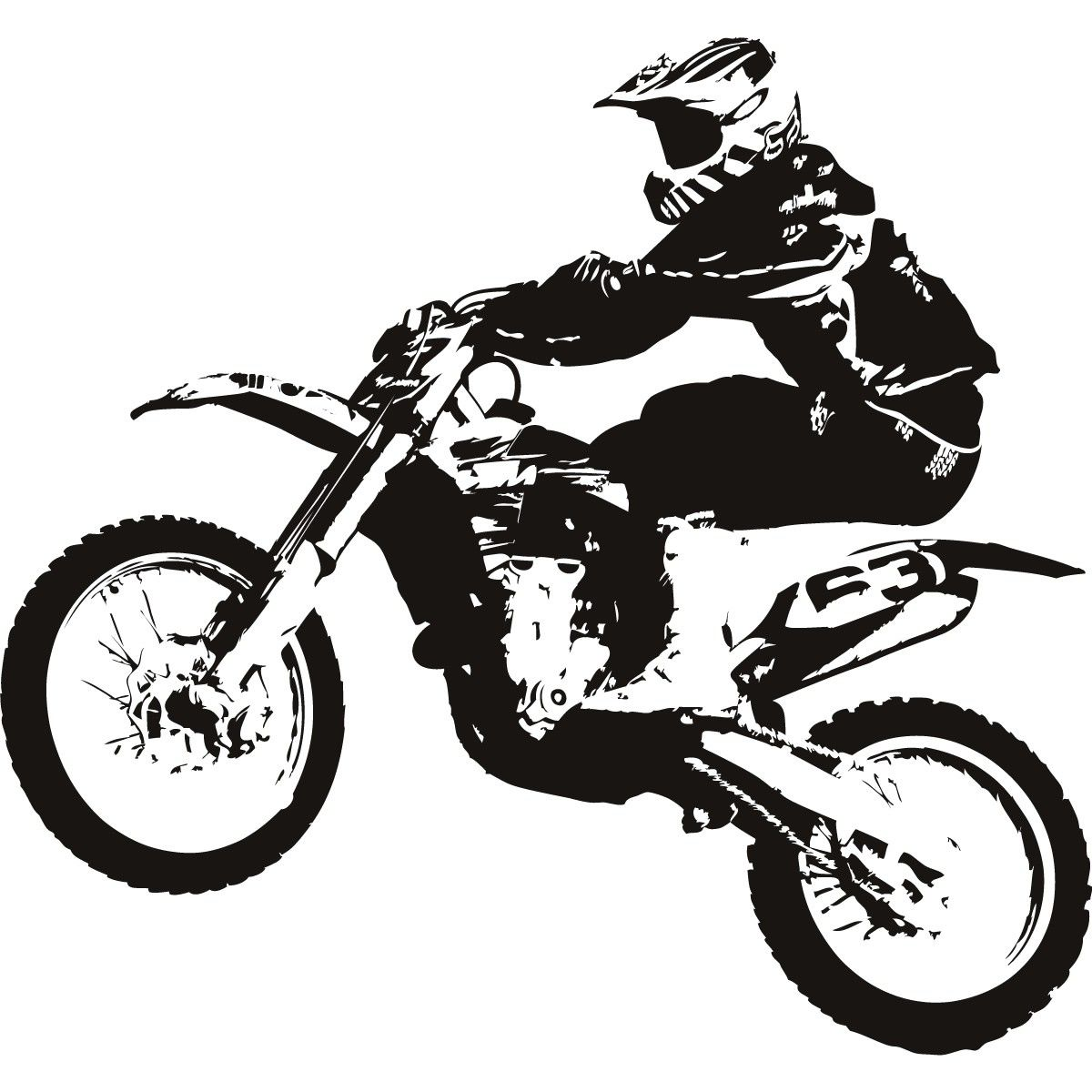 free download motocross bike clipart for your creation  [ 1200 x 1200 Pixel ]