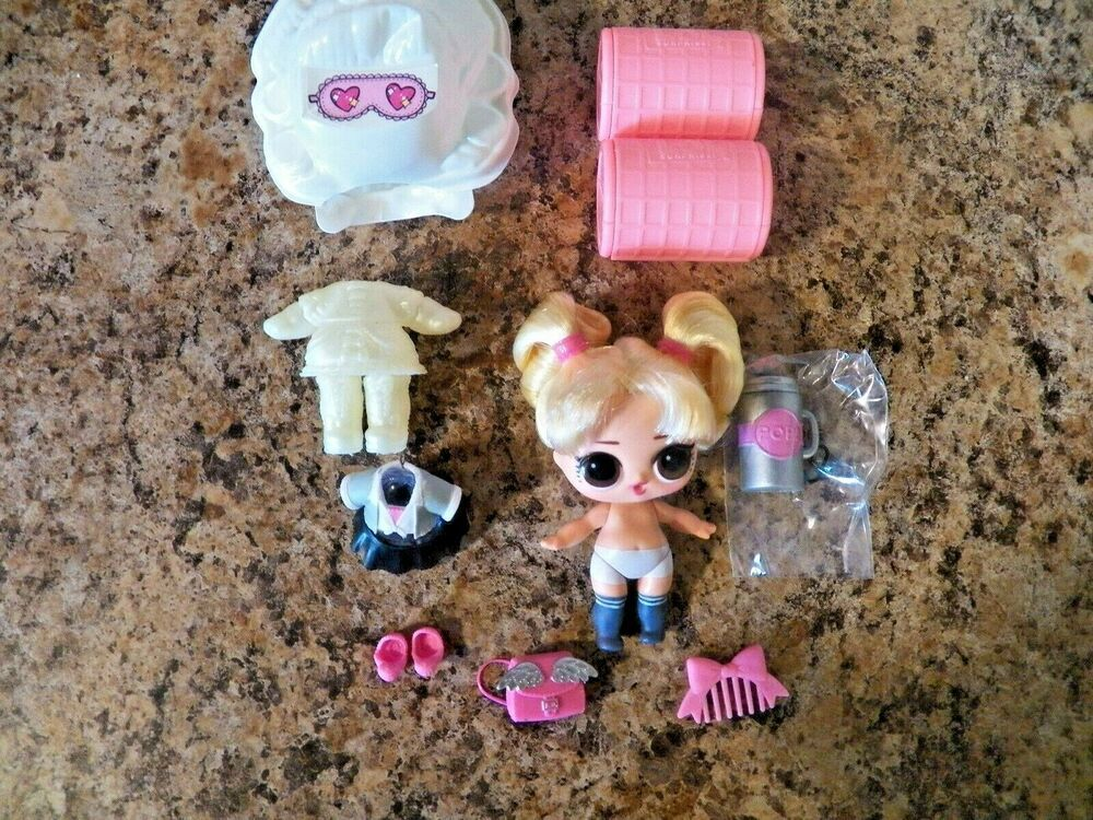 RETIRED LOL Lil Sister Scribbles BABY Surprise Series 4 Wave 2 NO BALL