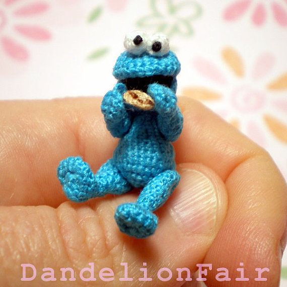 tiny cookie monster!!!!!!!!!!!!!!!!!!!!!   Cookie Monster ...