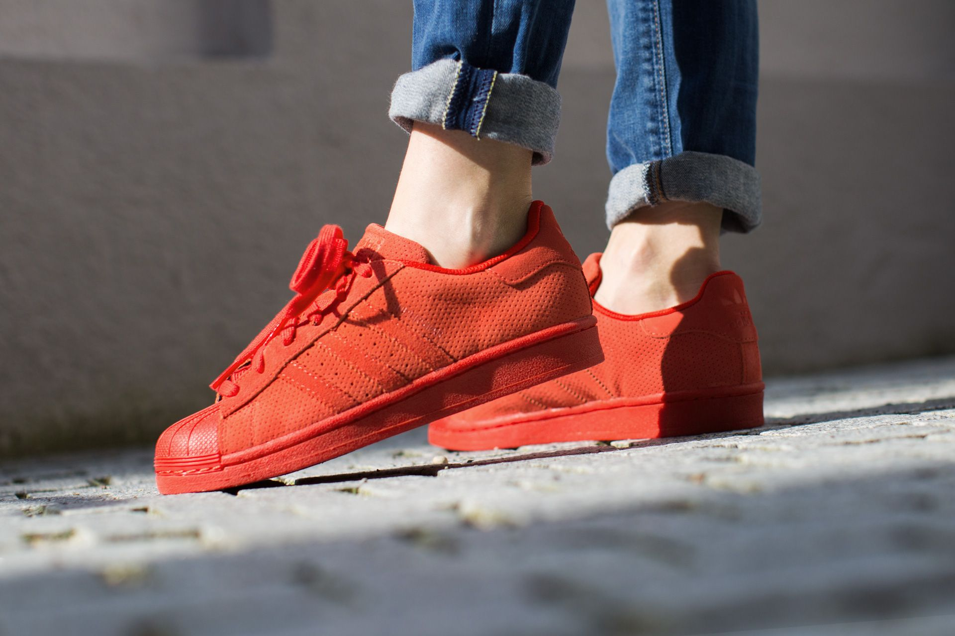 cheaper b52a5 b2291 ... adidas originals superstar rt red red red available at tint