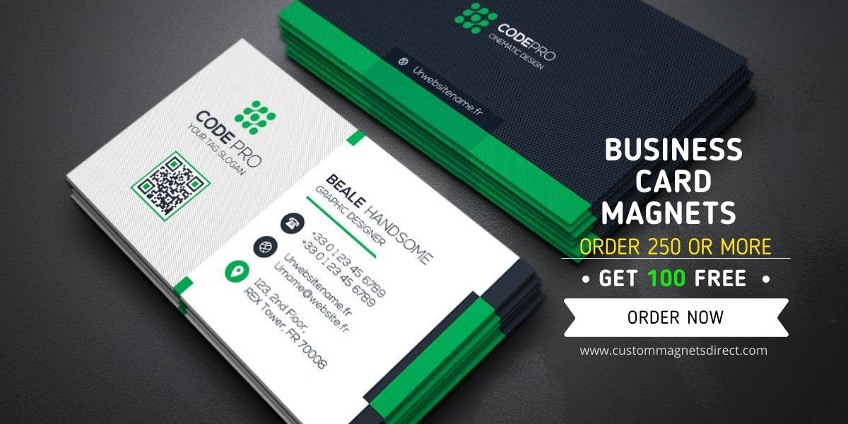 We Have An Unbeatable Offer Of 100 Free Magnets Every Time You Buy More Than 250 Units Hurry Good Times Magnetic Business Cards Business Cards Custom Magnets