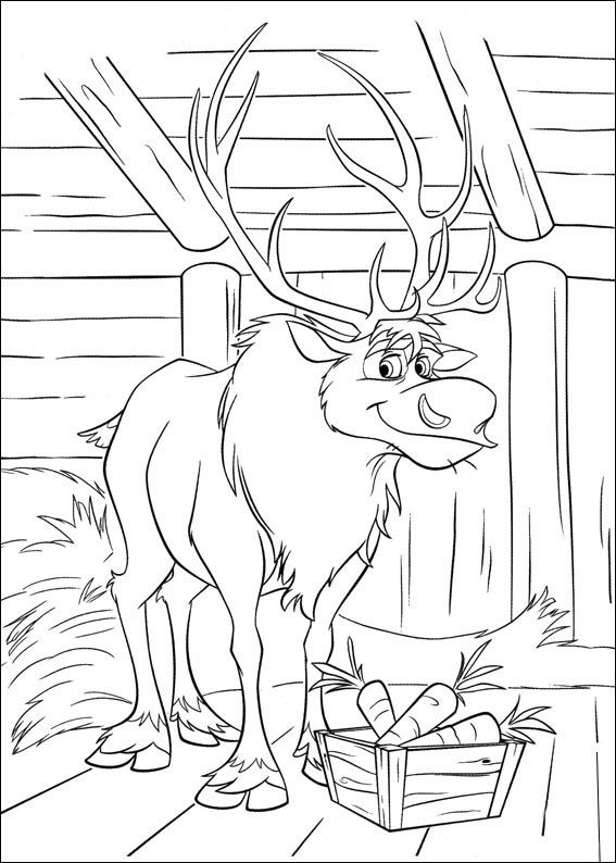 Frozen Coloring Pages For Kids Printable Online 19