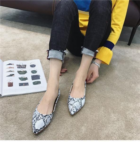 198cf8f49d7958 Women Elegant Pointed Toe Flats | Women Fashion Clothing | Pinterest ...