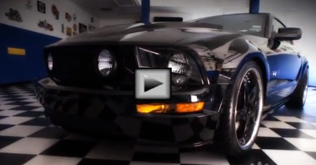 The Assassin Ford Mustang Supercharged American Muscle
