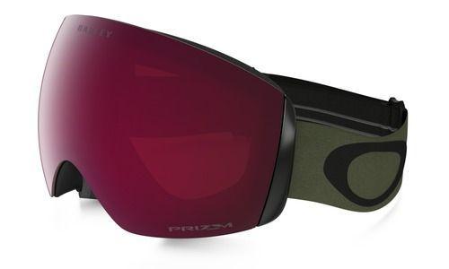 15f69248bc Oakley Flight Deck Snow Goggles Army Green Black/Prizm Rose Lens ...