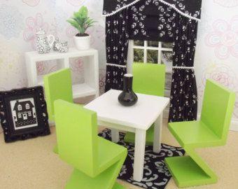 Miniatuur doll house 12e schaal woonkamer door minimaisonminiatures