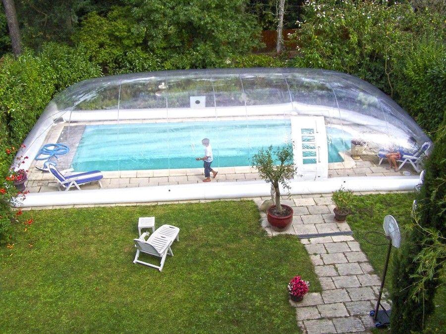 Cubiertas de piscina prepara tu piscina para el oto o - Mantenimiento piscina hinchable ...