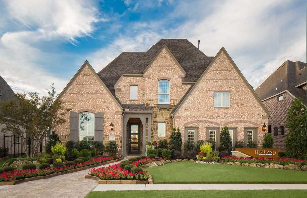A Pitched Roof And Classic Architectural Details Create A