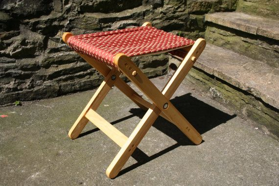 Folding Wooden Camping Chair Seat Outdoor Recliner By ByeBrytshi, £45.00