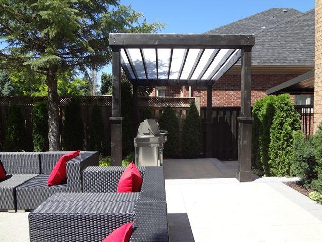 Pergola covers sepio weather shelters garden landscape for Open pergola designs