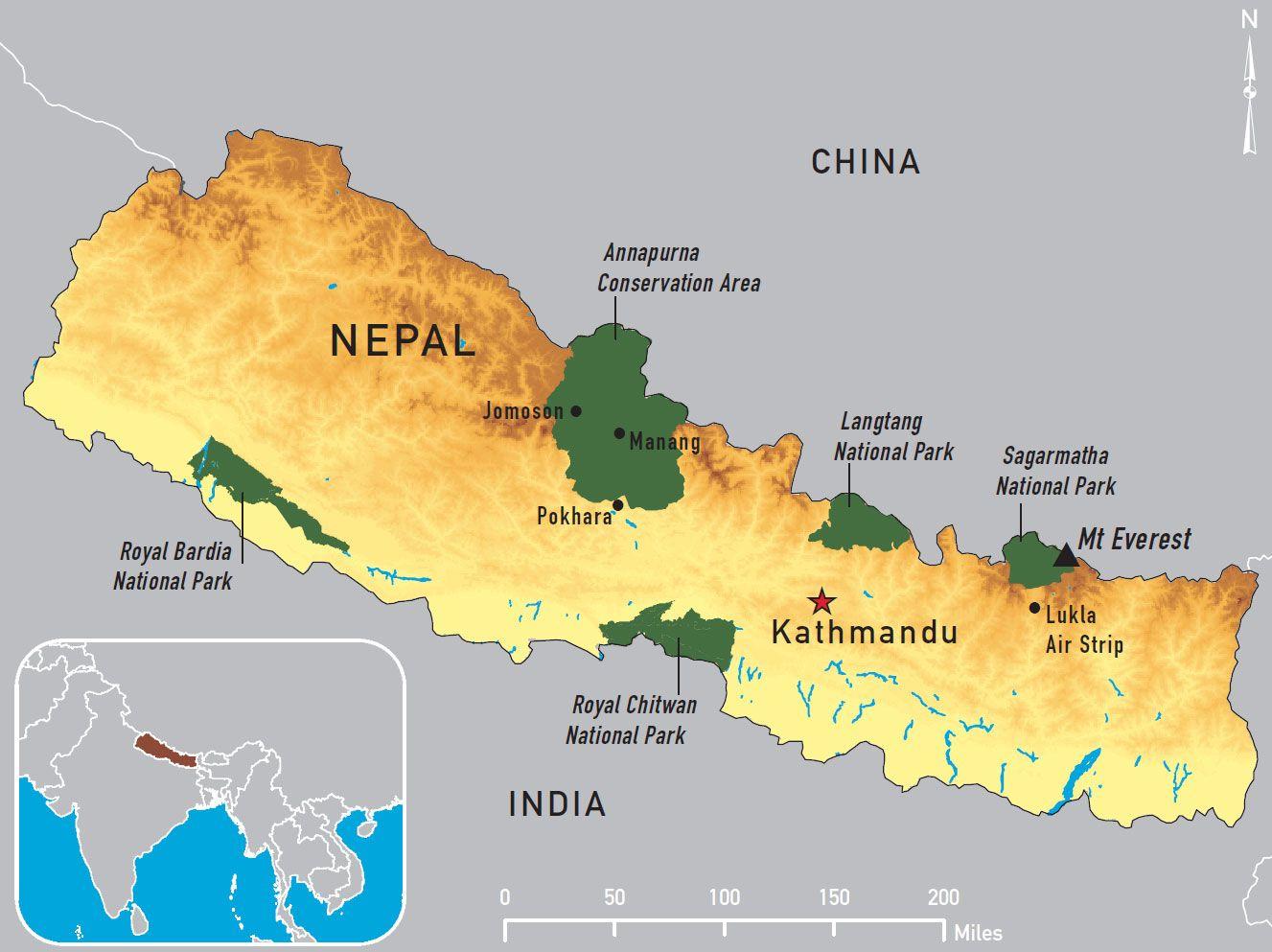 nepal Nepal Chapter 4 2012 Yellow Book Travelers