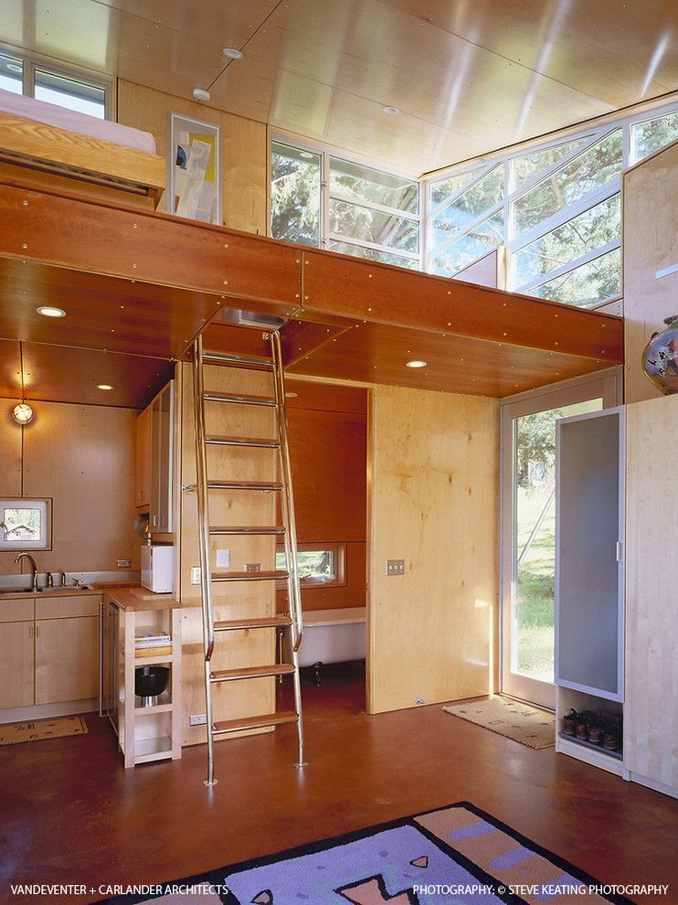 Gallery The C3 Cabin By Vandeventer Carlander Tiny House Interior Tiny House Living House