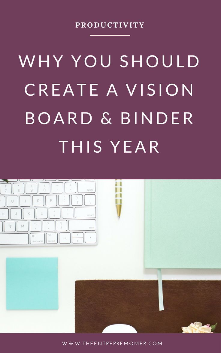 Why You Should Create A Vision Board & Binder This Year