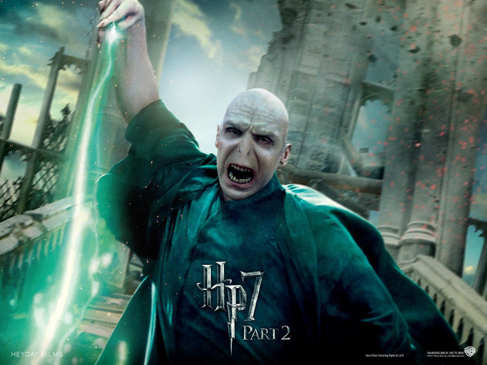 voldemort in harry potter and the deathly hallows part | wallpapers
