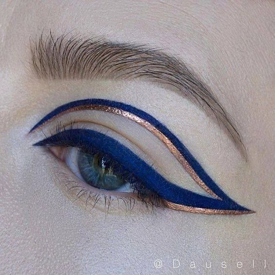 Image about blue in Make-up by Aline on We Heart It