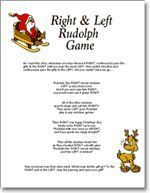 LEFT / RIGHT Gift Passing Game - Christmas Party Game | Christmas ...