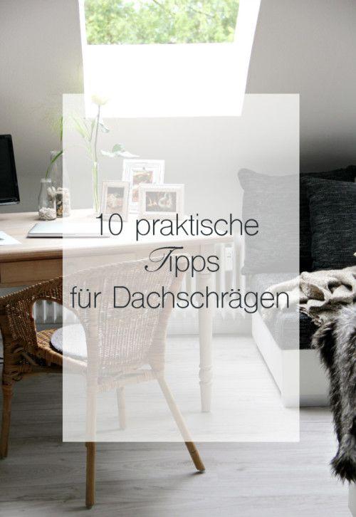 10 praktische tipps um dachschr gen zu dekorieren und zu nutzen auf decor. Black Bedroom Furniture Sets. Home Design Ideas