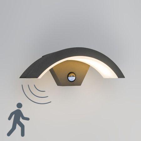 Outdoor Wall Lamp Motion Led Sweden Dark Grey Led Bewegungsmelder Outdoor Wandleuchten Led