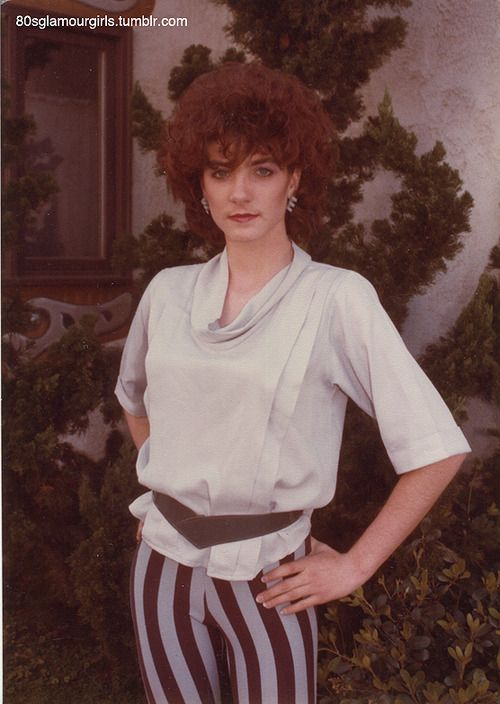 REVA: Curly amateur redhead