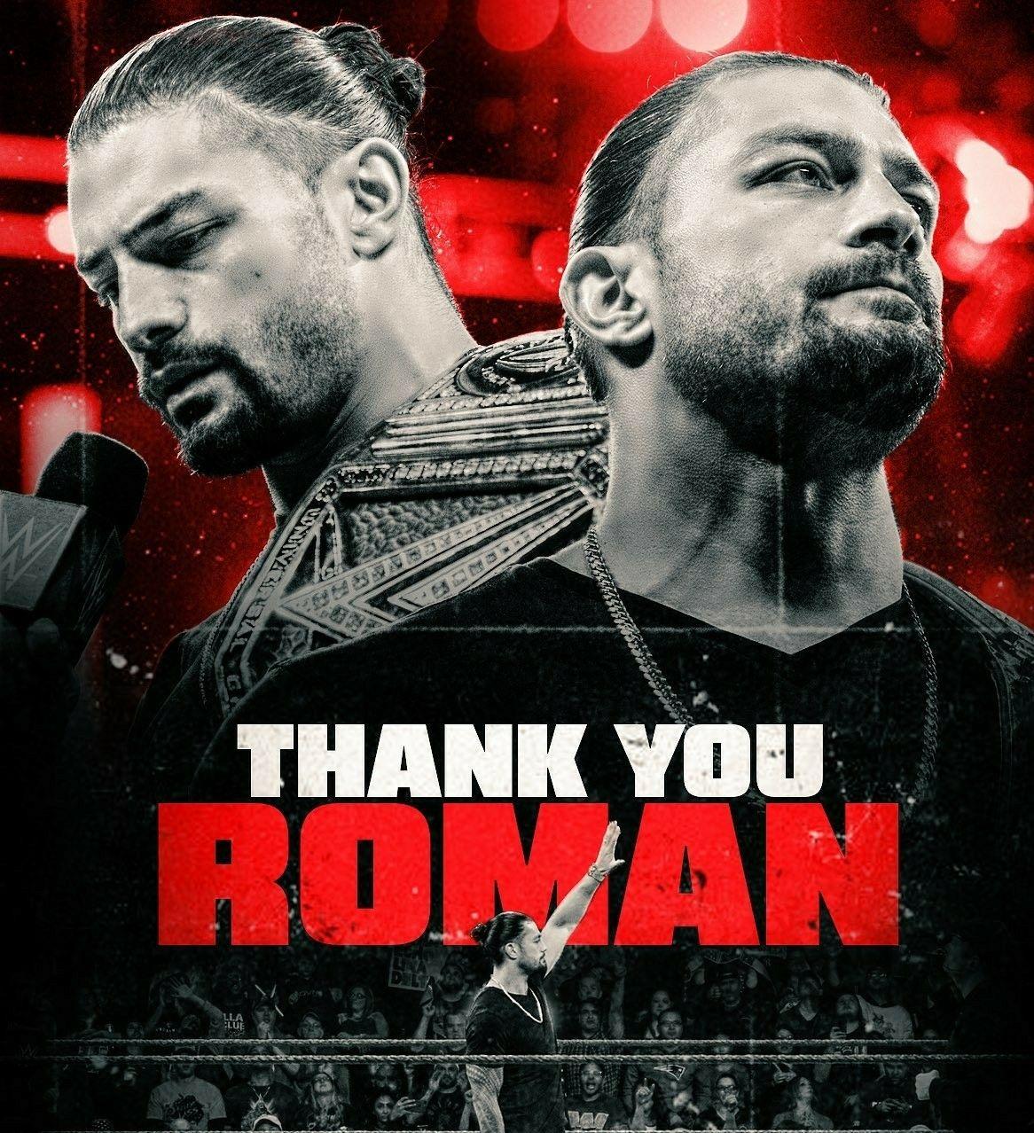 Roman Reigns I Miss U Roman I Love U Roman Roman Reigns Wwe