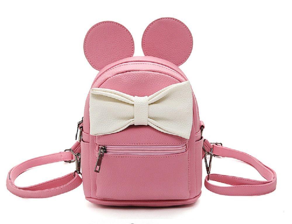 f59e0e885a4 Disney Minnie Mickey Mouse Ears Bow Mini Backpack