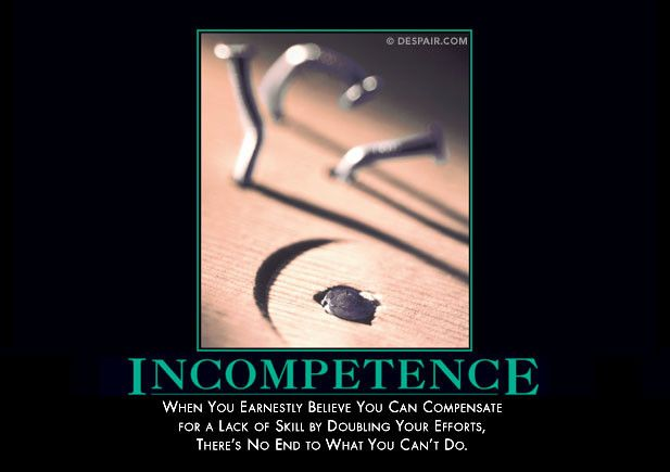 Incompetence from Despair, Inc.