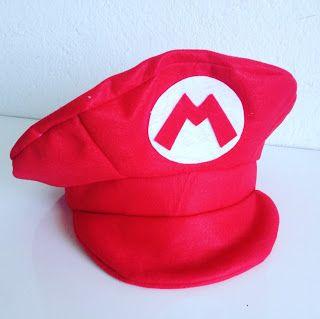 98b6971b1c13a Boina Boné Chapéu do Super Mario Bros