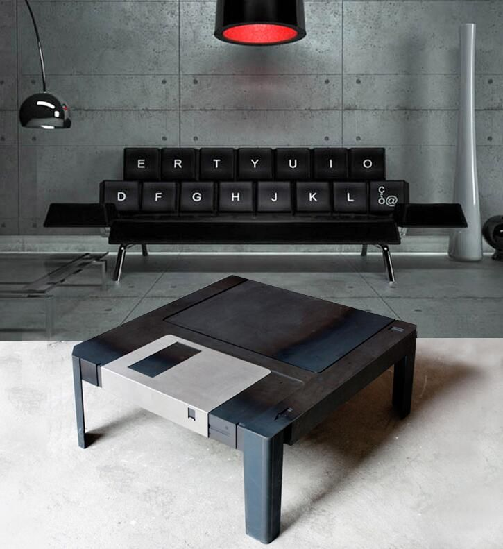 Superior Geeky Table And Couch