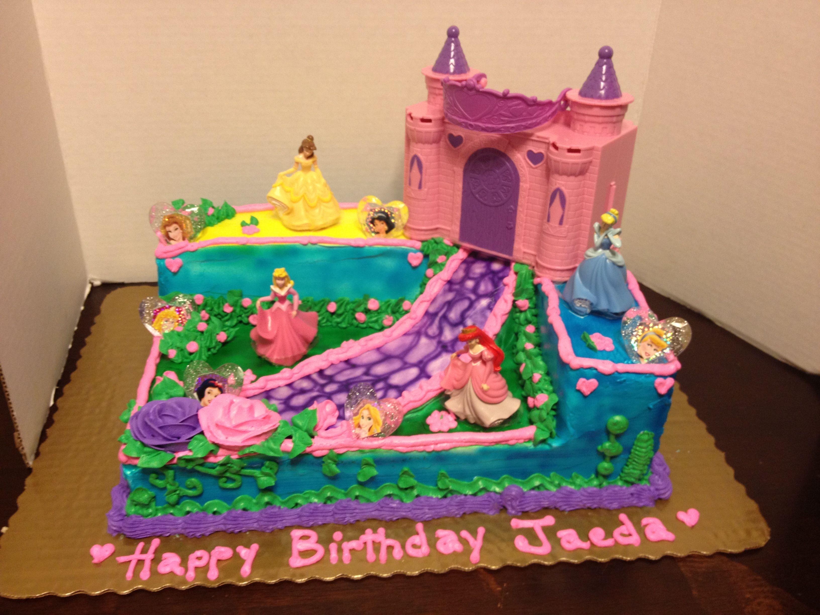 Disney Princess Cake Cakes By Gina Pacheco Pinterest Cake