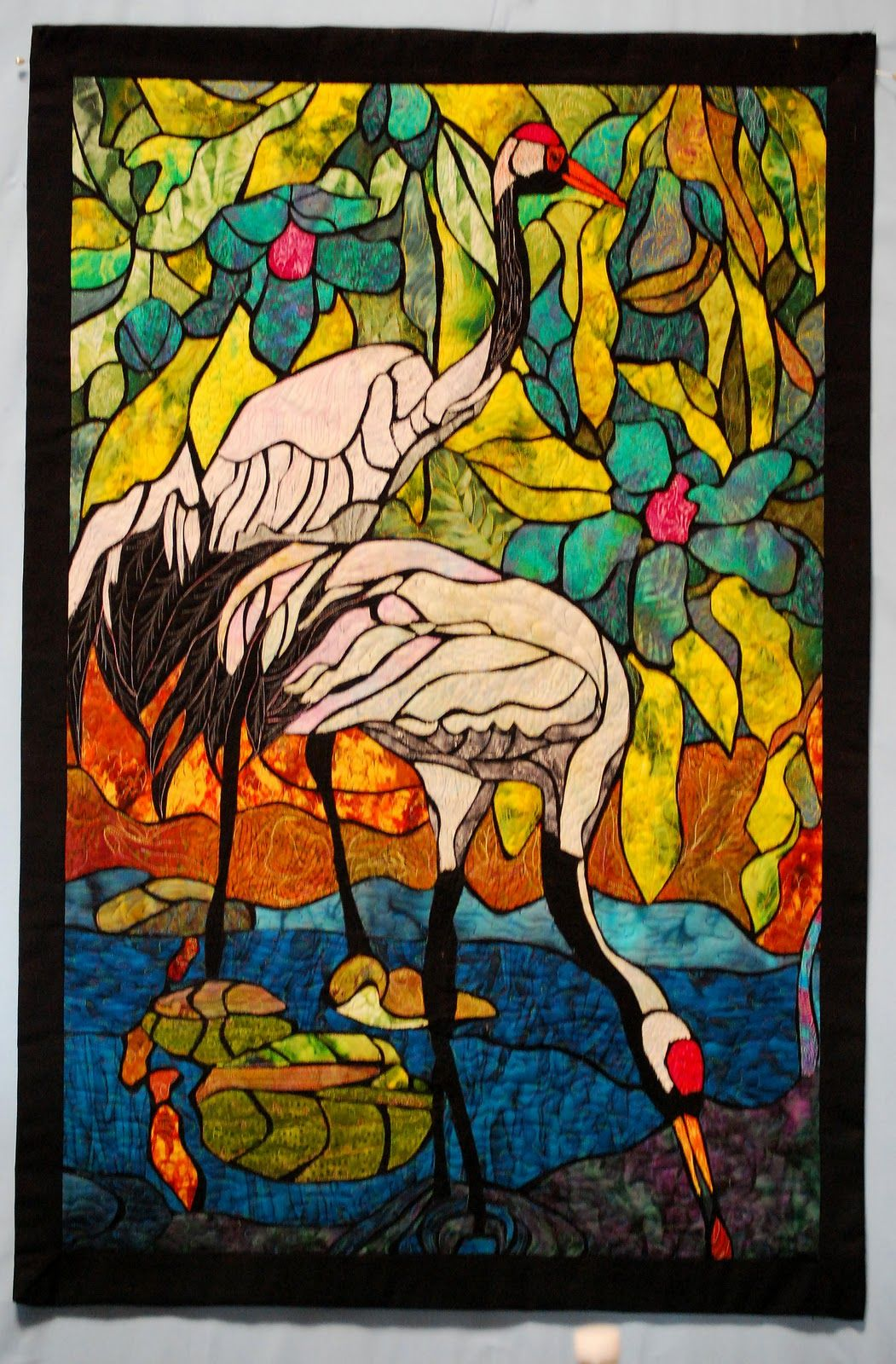Phyllis Cullen Art Studio: Stained glass quilting - in Italy ... : quilts by phyllis - Adamdwight.com