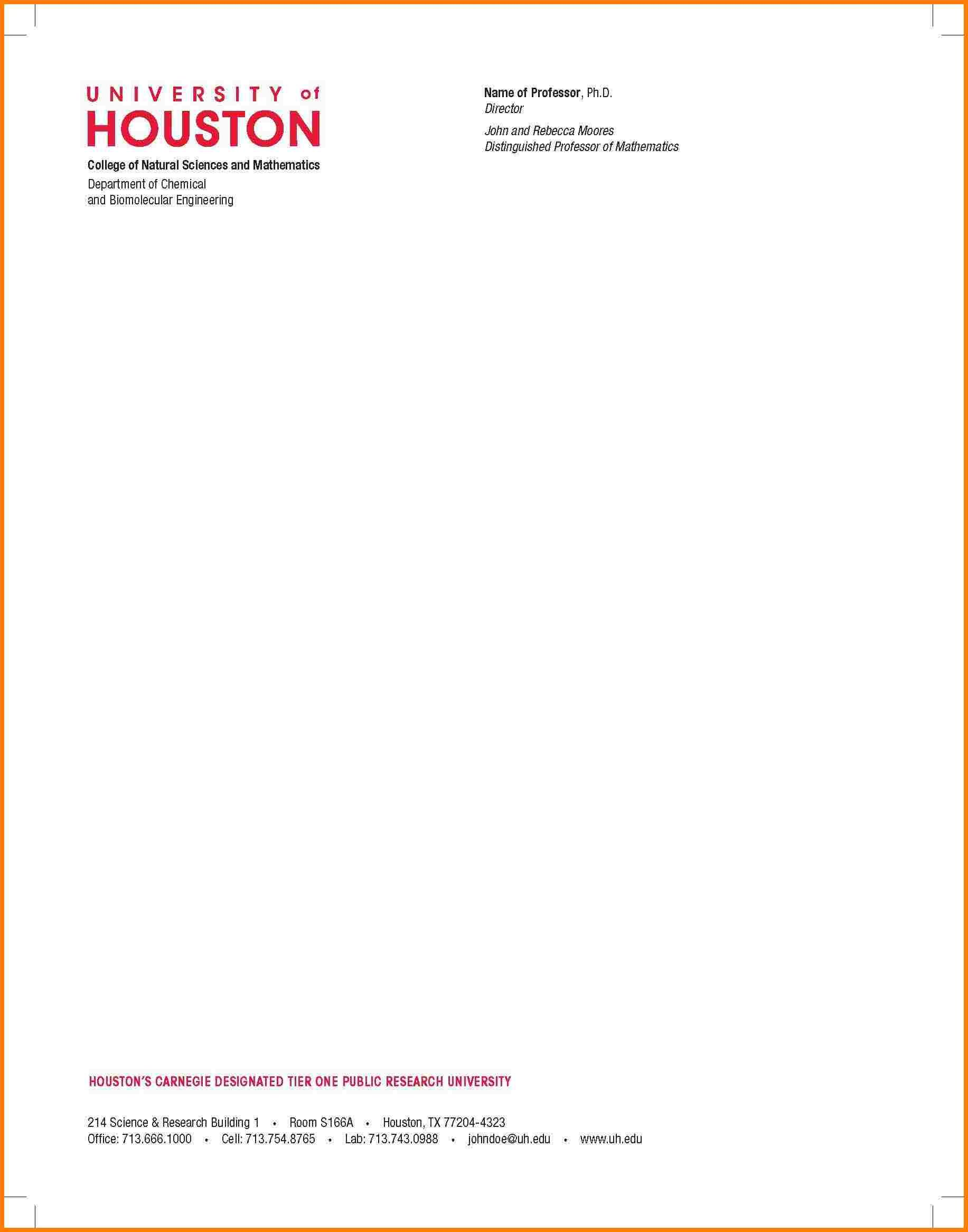 example of company letterheads